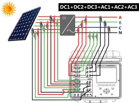 光伏电站系统效率PR分析仪